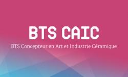 BTS CAIC - Concepteur en Art et Industrie Céramique