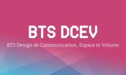 BTS DCEV - Design de Communication, Espace et Volume