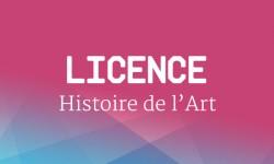 Licence Histoire de l'art