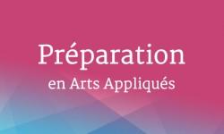 Année préparatoire en arts appliqués