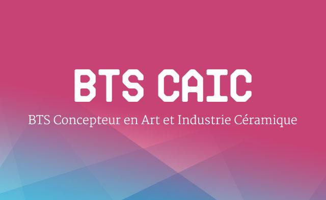 BTS Concepteur en Art et Industrie Céramique