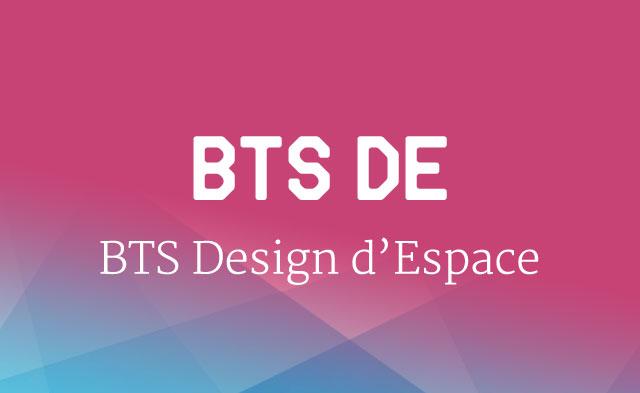 BTS Design d'espace