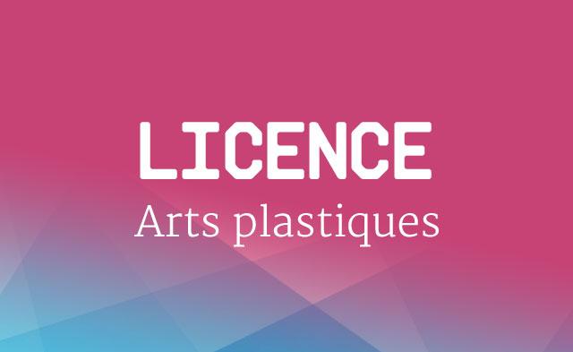 Licence Arts plastiques